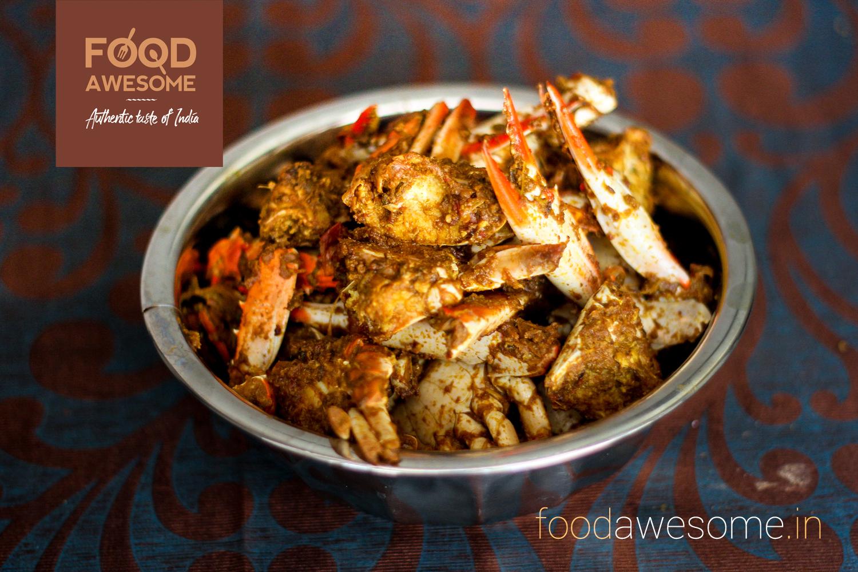 Crab Masala ( Chettinad Style)