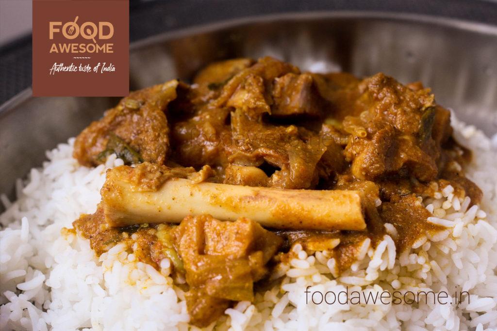 Spicy Mutton Kulambu