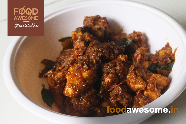 Chicken Varuval