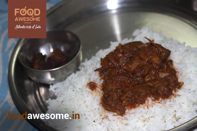 Vanjiram Dry fish Curry