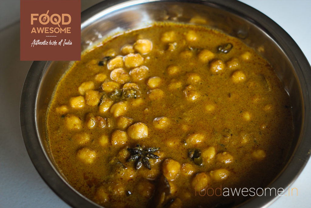 White Channa Masala