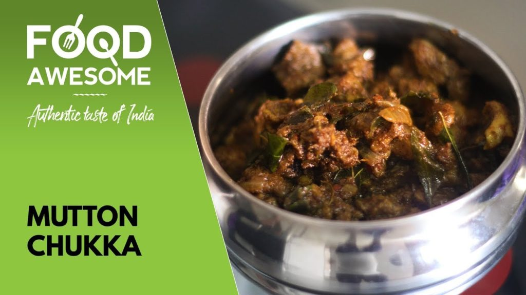 Mutton Chukka – Mutton Varuval – மட்டன் சுக்கா | Food Awesome